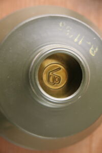Gas mask canister marking