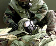 M40 Field Protective Masks In Use