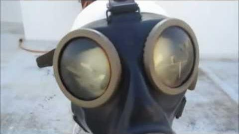 German GM-38 Gas Mask