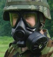 Serbian M3 Gas Mask (U.S. M40 Copy)