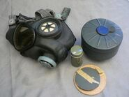 U.S. M5-11-7 Army Assault Gas Mask (4)
