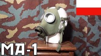 Maska przeciwgazowa MA-1 gas mask