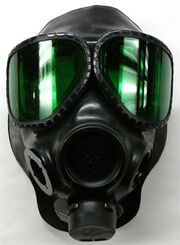 M40A2 Gas Mask With Laser Protective Lens Outserts