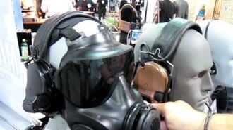 Avon Protection Systems (APS) M53 U.S. Special Operations Gas Mask Respirator at SOFIC 2011