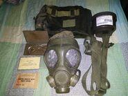 Canadian C4 Gas Mask Kit