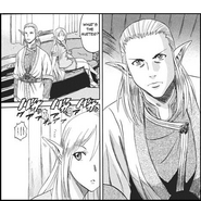 Hodor Marceau waking Tuka when the Flame Dragon attacks Manga chapter 3 page 3