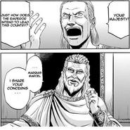 Senator Casel El Tiberius and Emeror Mott Manga chapter 1 page 8