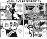 Magician's Preferences in Marutto Gate Journey Chapter