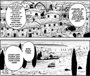 Manga view of Rondel and founding gods named Manga chapter 53 page 17