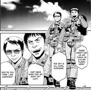 Lieutenant Colonels Jun Kurihama and Akira Kmikoda F 16 pilots Manga 27