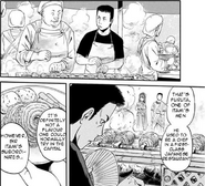Hitoshi Furuta cooking at Imperial Gardens Manga chapter 30 page 13