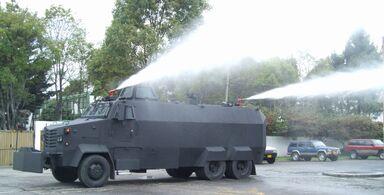 Riot-control-vehicle