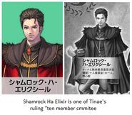 """Shamrock Ha Elixir is one of Tinae's ruling """"ten members commitee"""""""
