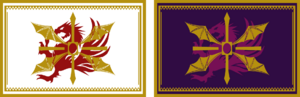 Empire's flags - Civil War