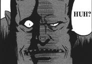 Harmar's scary face