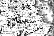 Elbe map