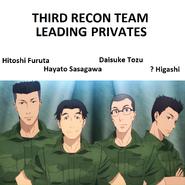 Hitoshi Furuta, Hayato Sasagawa Daisuke Tozu and unknown Higashi