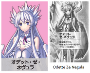 Odette Ze Negula is a guardian of warship Odell