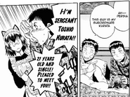 Takeo Kurata introduces himself to Persia Manga