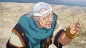 Godasen senator and mage of the Imperial Senate, Anime Episode 2