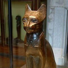 Estatua egipcia de un <a href=