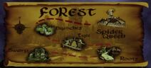 Forest Realm Map