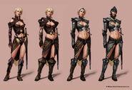Gauntlet07 Art Valkyrie 9 Many valkyrie armor