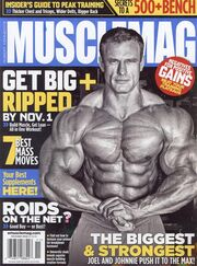 Cover musclemag nov09