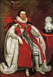 200px-James I of England by Daniel Mytens