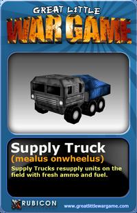 GLWG trading card supplytruck