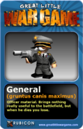 GLWG trading card general