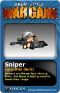 GLWG trading card sniper