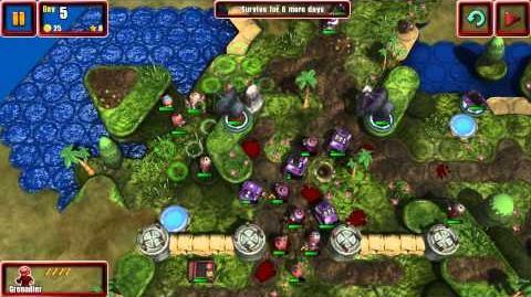 Great Big War Game; Episode 9 - Beach Defense...Stupid Candy
