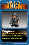 GLWG trading card engineer