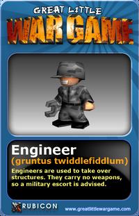 GLWG trading card engineer