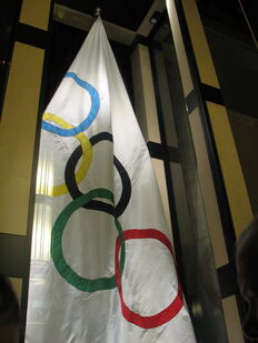 2nd rumord olympic flag
