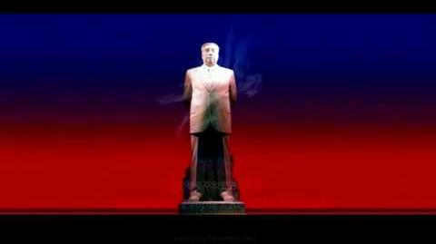 Song of General Kim Il Sung (Kumsusan Memorial Palace)