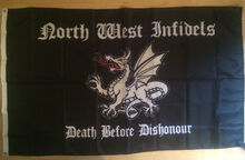 North west Infidels flag