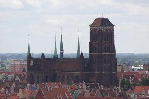 Gdańsk Główne Miasto - Bazylika Mariacka