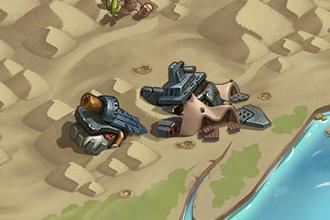 Руины космического корабля