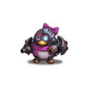 Mechanical Penguin (Pink)