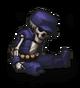 Останки солдата (фиолетовая кепка)