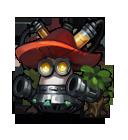 Flame Mushroom