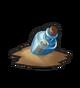 Плавучая бутылка (синяя)