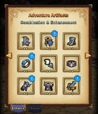 Adventure Artifacts
