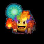 Элементаль огня Наряд1