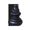 Bishop's Statue (Checkers)