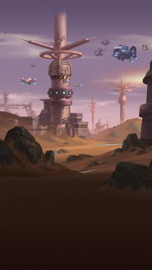 SpacePlanetBirthiginBack