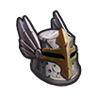 Tattered Knight's Helmet