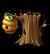 Дерево с ульем